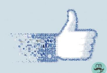 mano de Facebook