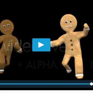 Video Navidad galletas bailando