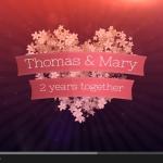Video Montaje Fotos y Videos para San Valentín personalizado sanvalentin703155