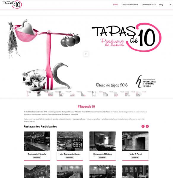 """Nuevo Proyecto """"Tapas de 10"""""""